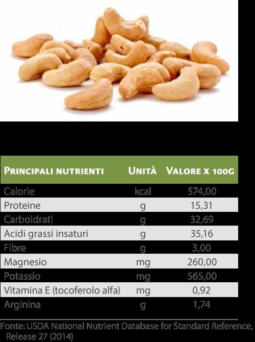 Anacardi-benessere
